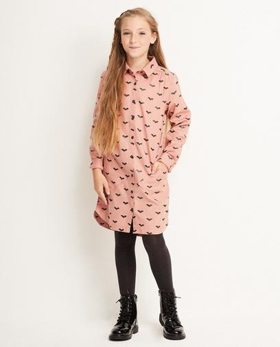 Kleid mit Fledermausprint